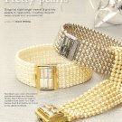 Y209 Bead PATTERN ONLY Beaded Pretty Pearls Bracelet Pattern