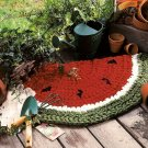 Y991 Crochet PATTERN ONLY Summer Watermelon Slice Rag Rug Pattern