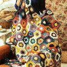 X214 Crochet PATTERN ONLY Join-as-you-go Fireside Throw Afghan Pattern