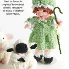 W322 Crochet PATTERN ONLY Little Bo Peep Doll and Clothes Pattern