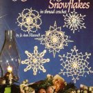 X734 Crochet PATTERN Book ONLY Glittering Snowflakes 12 Christmas Ornament