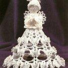 X696 Crochet PATTERN ONLY Angelina Angel Ornament