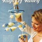 X160 Crochet PATTERN ONLY Flight of Fancy Duck Mobile Pattern