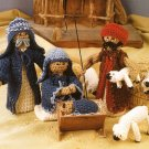 X201 Crochet PATTERN ONLY Christmas Creche Nativity Scene