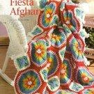 X351 Crochet PATTERN ONLY Summer Fiesta Afghan Pattern