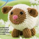 W202 Crochet PATTERN ONLY Field the Little Lamb Toy Doll Pattern
