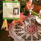Y696 Crochet PATTERN ONLY Teatime Doily Pattern