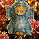 Y543 Cross Stitch PATTERN ONLY Bernard the Wizard Ornament or Plant Poke Chart