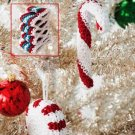 Y289 Crochet PATTERN ONLY Candy Shop Christmas Ornament Patterns