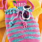 W282 Crochet PATTERN ONLY Beach Bag Tote Pattern