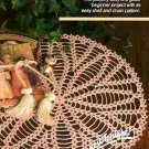 W213 Crochet PATTERN ONLY Easy Accent Doily Pattern Great for Beginners!