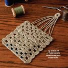 W316 Crochet PATTERN ONLY Miser's Purse Pattern