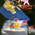 W402 Plastic Canvas PATTERN ONLY Sports Kids Ornament Patterns