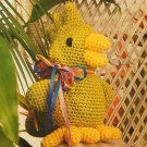 W416 Crochet PATTERN ONLY Tropical Delight Baby Parrot Toy Doll Pattern