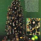 X159 Bead PATTERN ONLY Elegant Beaded Christmas Tree with Ornaments Pattern