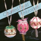 W396 Embroidery PATTERN ONLY Counted Bead Embroidery Ornament Cover Patterns