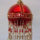 X392 Bead PATTERN ONLY Beaded Orb Christmas Ornament Cover Pattern