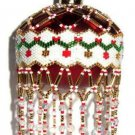 X208 Bead PATTERN ONLY Beaded Garland Christmas Ornament Cover Pattern