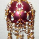 X312 Bead PATTERN ONLY Beaded Regency Christmas Ornament Cover Pattern