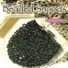 X535 Crochet PATTERN ONLY Beaded Snood Hair Bun Covers Pattern