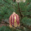 X532 Bead PATTERN ONLY Beaded Victorian Swag Christmas Ornament Cover Pattern