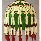 Y604 Bead Crochet PATTERN ONLY Beaded Crocheted Christmas Ornament Cover Pattern