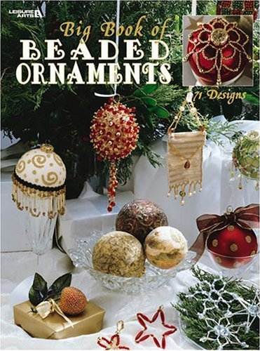 Y271 Beading PATTERN Book ONLY Big Book of Beaded Ornaments Covers Snowflakes