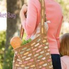 Y132 Crochet PATTERN ONLY Scraptastic Market Bag Tote