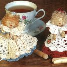 Y571 Crochet PATTERN ONLY Crochet Cutie Pie Clothespin Doll Pattern