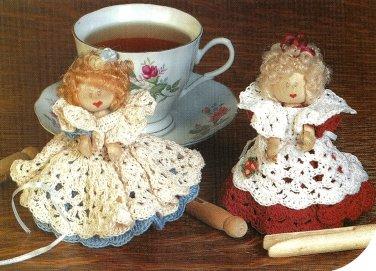 Y571 Crochet PATTERN ONLY Crochet Cutie Pie Clothespin Doll Pattern