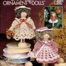 X022 Crochet PATTERN Book ONLY Crochet Clothespin Ornament Dolls Pattern