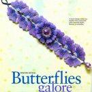 Y438 Bead PATTERN ONLY Beaded Butterflies Galore Floral Bracelet Pattern