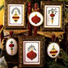 Y658 Cross Stitch PATTERN ONLY Opulant Christmas Ornament Patterns Charts