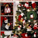 Y946 Crochet PATTERN Book ONLY A Beary Merry Christmas Ornament Patterns