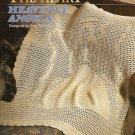 X552 Crochet PATTERN ONLY Heavenly Angels Afghan Throw & Doll Patterns