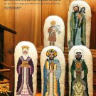 X698 Cross Stitch PATTERN ONLY Nativity Creche 8 Piece Set