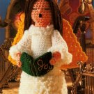 X934 Crochet PATTERN ONLY Musical Angel Christmas Doll Pattern