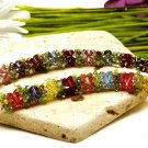 Y656 Bead PATTERN ONLY Beaded Crystal Blooms Flowers & Leaves Bracelet Pattern