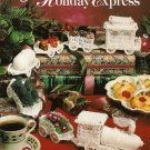 X812 Crochet PATTERN Book ONLY Holiday Express Train Car Locomotive Christmas