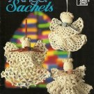 X425 Crochet PATTERN Book ONLY Angel Sachets 7 Christmas Ornament Pattern