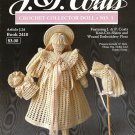 X491 Crochet PATTERN Book ONLY Collector Doll #1 Victorian School Girl Doll