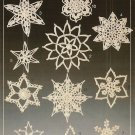X033 Crochet PATTERN Book ONLY 11 Crochet Elegant Snowflake Annie's Attic