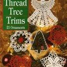 X348 Crochet PATTERN Book ONLY Thread Tree Trims 21 Christmas Ornament Pattern