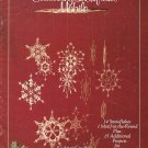 X591 Crochet PATTERN Book ONLY Snowflake Mobile 30 Christmas Ornaments Rare