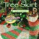 X263 Crochet PATTERN ONLY Christmas Tree Skirt & Stocking Pattern Ornament