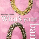 Y468 Bead PATTERN ONLY Beaded Bangle Patterns Right-Angle Weave