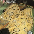 X985 Crochet PATTERN ONLY Victorian Flowers Granny Square Afghan