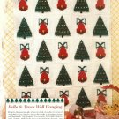 Y939 Crochet PATTERN ONLY Christmas Tree & Bells Afghan Throw Pattern