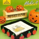 X851 Crochet PATTERN ONLY Pumpkin Napkin Holder Pattern