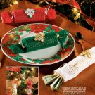 X897 Crochet PATTERN ONLY Christmas Cracker Ornaments in 2 Sizes